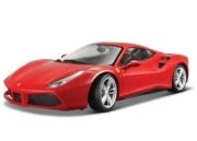 Ferrari 488 GTB red red 1/43