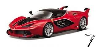 Ferrari FXX K rouge K rouge 1/43