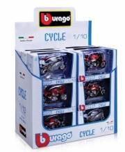 Divers Pack de 18 motos Yamaha, Honda, Suzuki, Triumph (modèles selon arrivage)  1/18