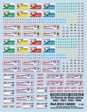 Divers 24H Le Mans 2003/2004/2005/2006  1/18