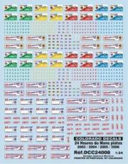 Divers 24H Le Mans 2003/2004/2005/2006  1/24