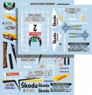 Skoda Fabia S2000 #2 rallye Ypres  1/24