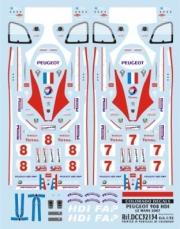 Peugeot 908 HDI 24h Le Mans  1/32