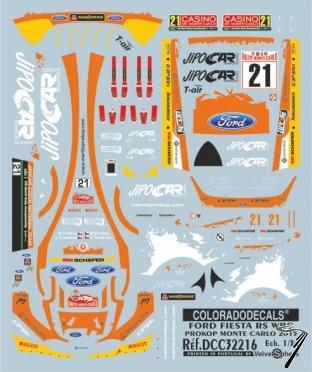 Ford Fiesta WRC Monte Carlo  1/32