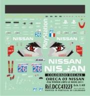 Nissan Oreca 03 #26 - 1er LMP2 24h Le Mans  1/43
