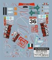 Skoda Fabia S2000 #36 rallye Portugal  1/43