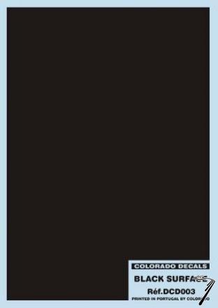 Divers . Surface noir 2 decals autre