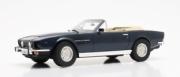 Aston Martin V8 Volante cabriolet bleu métallisé Volante cabriolet bleu métallisé 1/18