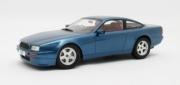 Aston Martin Virage bleu métallisé bleu métallisé 1/18