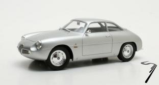 Alfa Romeo . Zagato argent 1/18