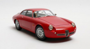Alfa Romeo . Spr. Zagato Arrière court Rouge 1/18