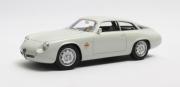 Alfa Romeo . Spr. Zagato arrière court Blanc 1/18