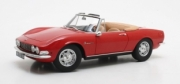 Fiat . cabriolet rouge 1/18