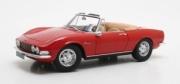 Fiat . cabriolet rouge 1/18