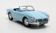 Triumph . MKII cabriolet bleu 1/18