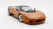 Jaguar XJR orange métal orange métal 1/18