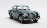 Aston Martin . -4 MKII FHC Notchback bleu 1/18