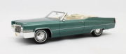 Cadillac . Cabriolet vert métal 1/18