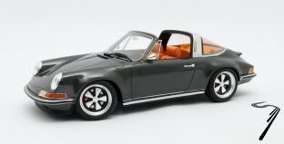 Porsche 911 Targa Singer gris métallisé Targa Singer gris métallisé 1/18