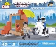 Divers Action Town - Police à moto - 40 pcs - 2 figurines Action Town - Police à moto - 40 pcs - 2 figurines autre