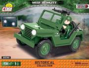 Divers . 4 x 4 M151 A1 MUTT - Vietnam - 91 pièces - 1 figurine autre