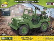 Divers . Willys MB 1/4 4 x 4 - 91 pièces - 1 figurine autre