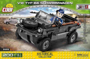 Volkswagen . Type 166 amphibie - 200 pièces - 1 figurine autre