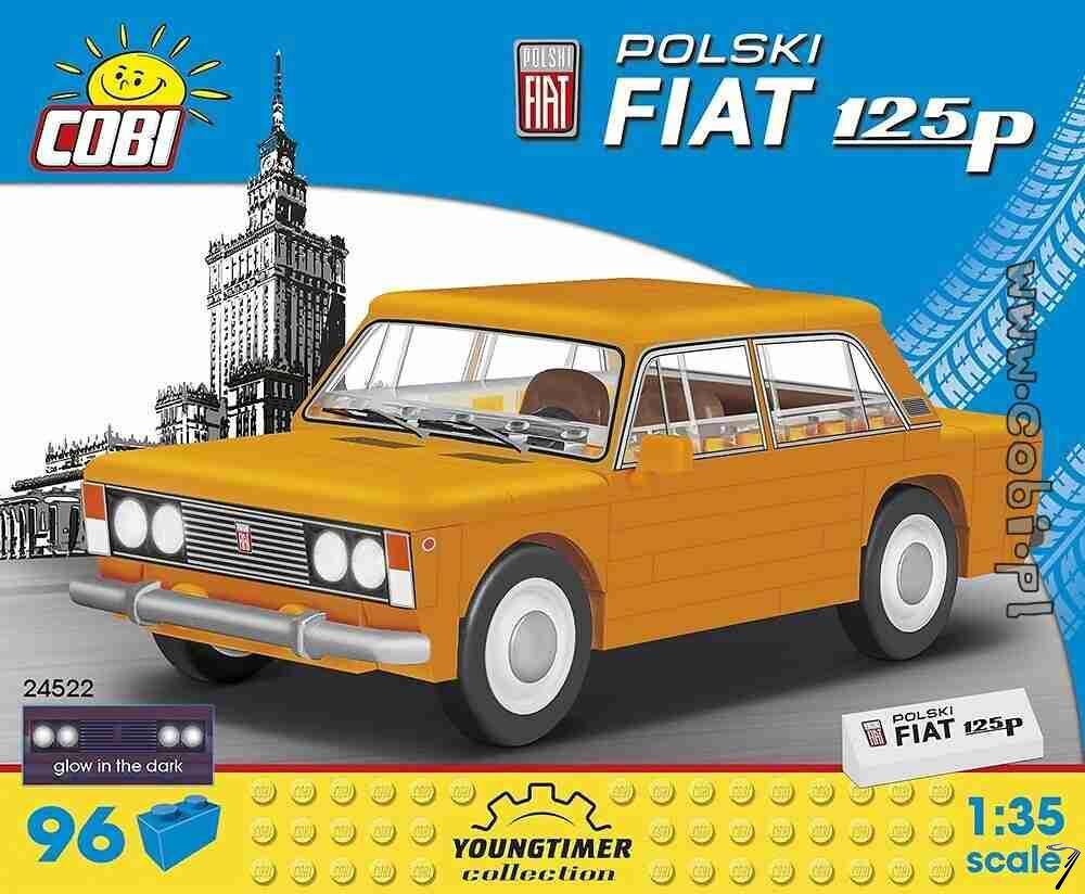 Polski . Fiat 125 P - 96 pièces 1/35