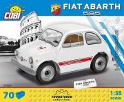 Fiat . 595 blanche - 70 pièces 1/35