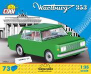 Wartburg . Verte - 73 pièces 1/35