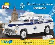 Warszawa . 223 A Ambulance - 116 pièces 1/35