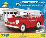 Trabant . Pompier - 77 pièces 1/35