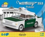 Wartburg . Police - 84 pièces 1/35
