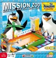 Divers . Les Pingouins de Madagascar - Mission Zoo - 180 pcs - 3 figurines autre