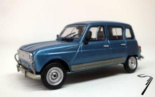 Renault . GTL bleu métallisé 1/43