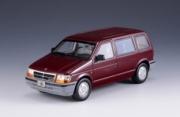 Chrysler . metallic red 1/43