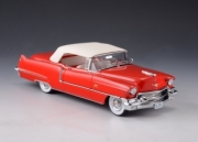 Cadillac . closed roof red 1/43