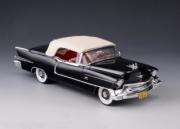 Cadillac . Biarritz cabriolet fermé gris foncé métallisé 1/43