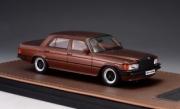 Mercedes . W116 6.9 marron métallisé 1/43