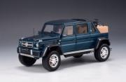 Mercedes . 650 Maybach bleu métallisé 1/43