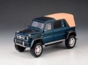 Mercedes . 650 Maybach Bleu capote fermée 1/43