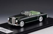 Bentley . 1 Drophead coupe Graber noir 1/43