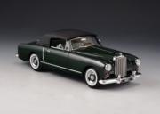 Bentley . 1 DHC Graber gris cabriolet fermé 1/43