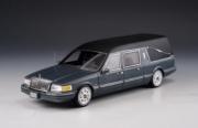 Lincoln . véhicule funéraire gris métallisé 1/43
