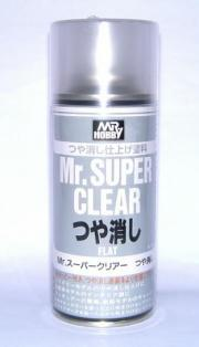Divers Mr Super Clear Flat Spray Mr Super Clear Flat Spray autre