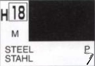 Divers H18 10ml Acier métallisé H18 10ml Acier métallisé autre