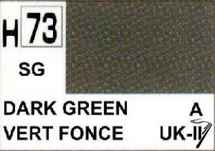 Divers H73 10 ml Vert Foncé satiné H73 10 ml Vert Foncé satiné autre
