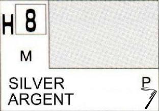 Divers H8 10ml Argent métallisé H8 10ml Argent métallisé autre