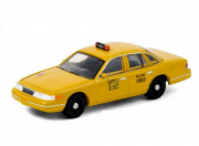 Ford . Victoria NYC Taxi, jaune 1/64