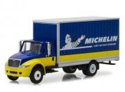 Divers . International Durastar box van *Michelin, h.d. truck series 12, bleu/jaune 1/64
